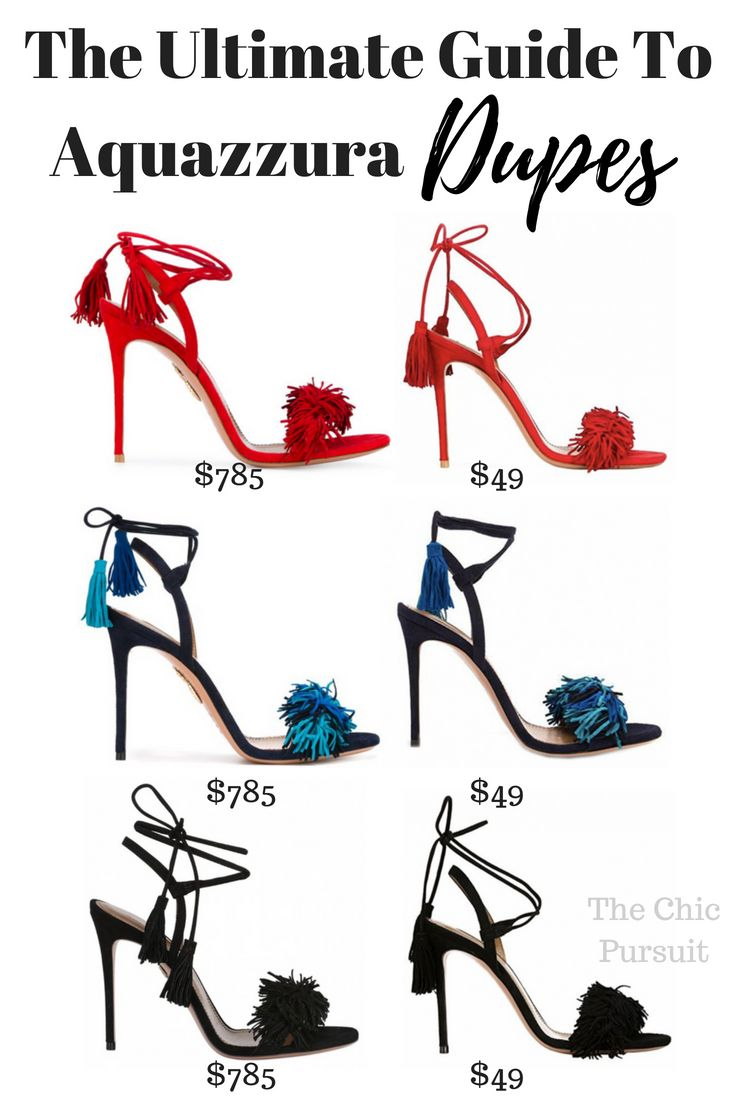 52ac11046d4 Steal The Real  15 Aquazzura Look Alikes (From  39.90!)
