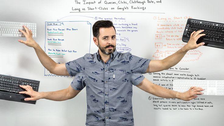 Moz heeft weer een interessante Whiteboard Friday gepubliceerd genaamd The Impact of Queries, Long and Short Clicks, and Click Through Rate on Google's Rankings. www.workingservice.nl