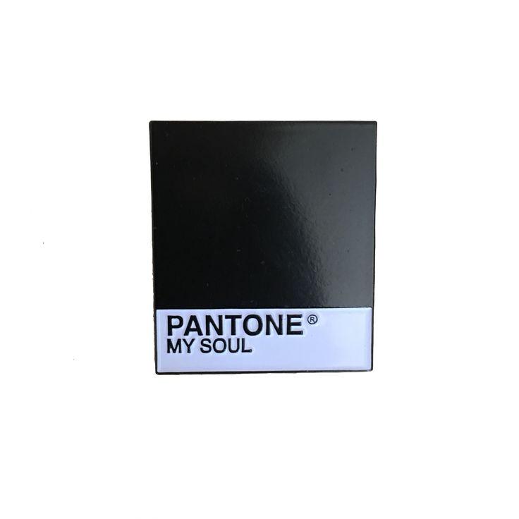 Pantone Black Pin