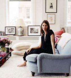 Rose & Hudson: Interior, Living Rooms, Blue Couch, Style, Livingroom, Blue Sofa, Apartment, Sofas