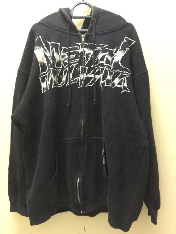 Metal Mulisha Mens Hoodie Medium Metal Mulisha American Lifestyle Clothing Metal Mulisha Sweatshirt Size M by MudeanDean