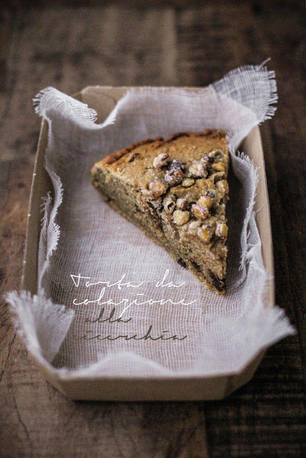 - VANIGLIA - storie di cucina: torta da colazione alla cicerchia, con caffè, ricotta e cioccolato fondente