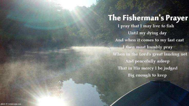 The Fisherman S Prayer Fishing Quotes And Jokes