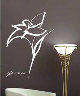 Wall stickers by Finnish fashion designer Jukka Rintala. Buy at www.art4u.fi