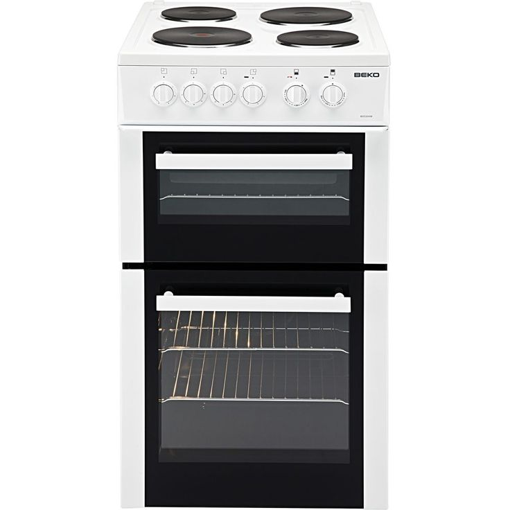 Beko BD533AW 50cm White Free Standing Twin Cavity Electric Cooker Hob & Oven New in Home, Furniture & DIY, Appliances, Cookers, Ovens & Hobs   eBay....*****I just bought a new cooker!! woohoo!!!*****