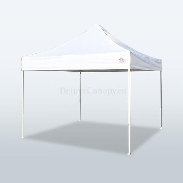The Deluxe Canopy 8x8 Lite Series pop up canopy tent is a lightweight and portable recreational shelter ideal for sports events, backyards parties, camping and