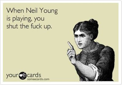 Neil Young News: If You Text During a Neil Young Concert, This Could Happen To You