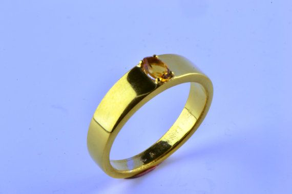 14K Gold Filled Oval Natural Earth Mined by LuckyGirlAtelier