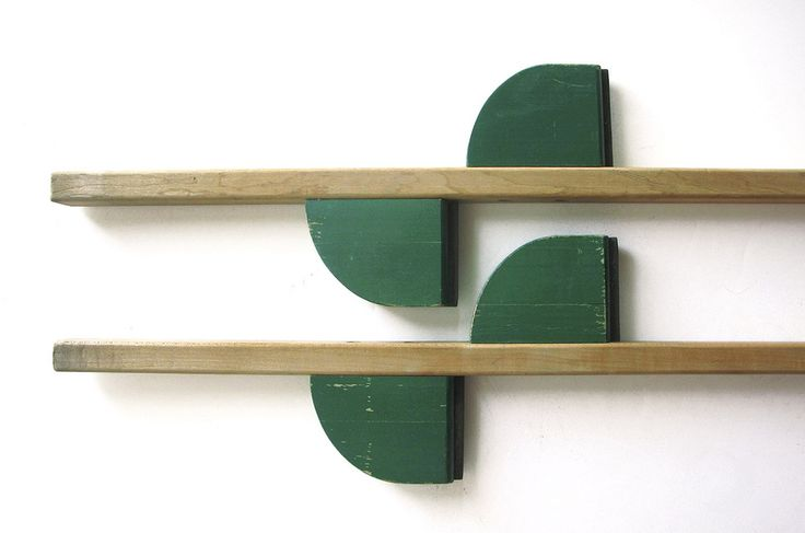 1960's Creative Playthings Wooden Stilts