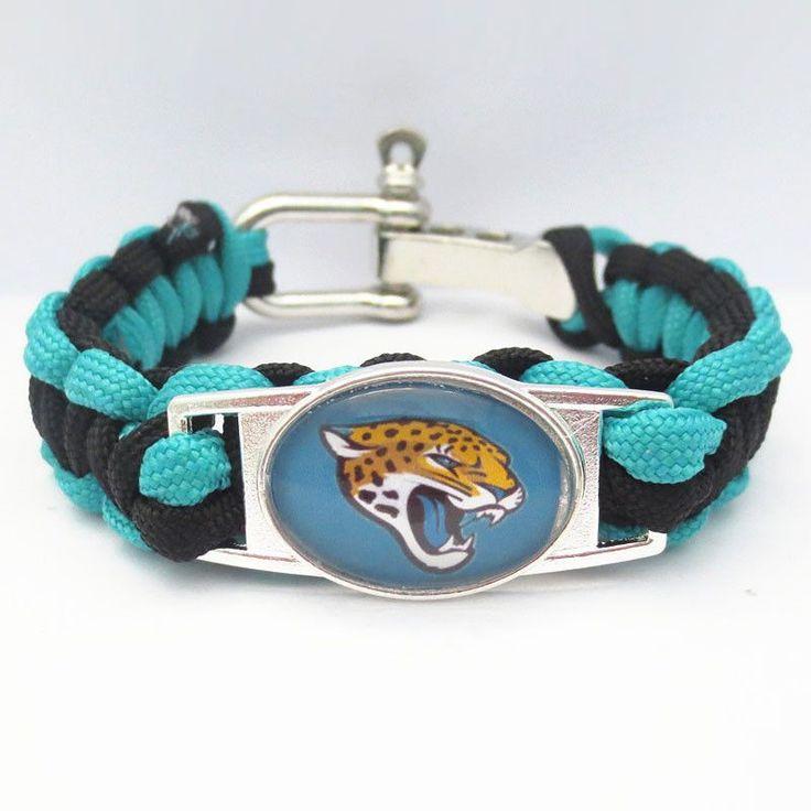 NFL Jacksonville Jaguars Football Team Bracelet