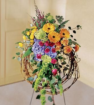 Unique Funeral Flowers | Sympathy Flowers When you need to deliver funeral flowers, Wreaths ...