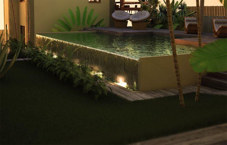 Piscina Esterna per Residence in Brasile