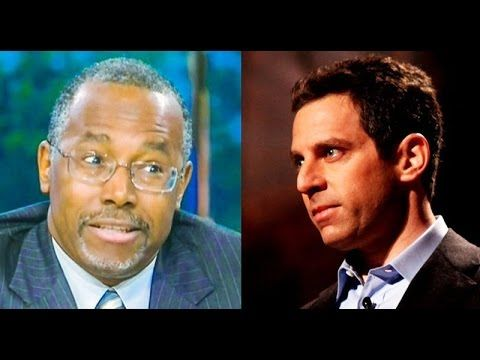 Sam Harris: I'd Vote For 'Imbecile' Ben Carson Over Noam Chomsky
