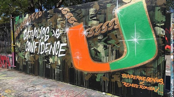 Miami is all about The U today as we head into a home football weekend pitting the seventh-ranked Miami Hurricanes against the third-ranked Notre Dame Fighting Irish.