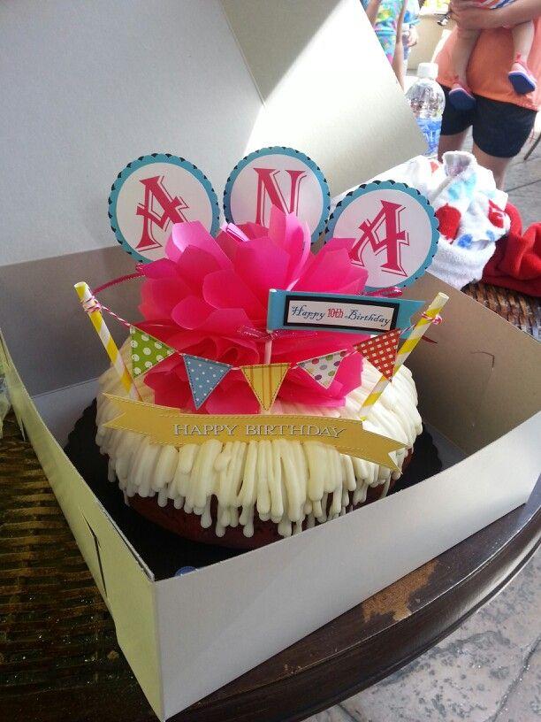 Cupcake Happy Birthday Banner