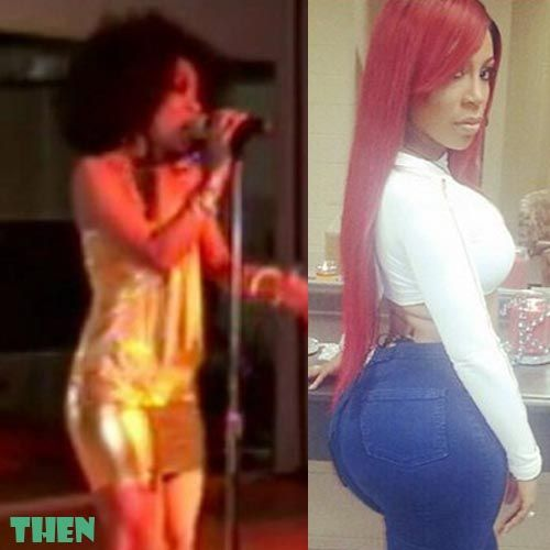 K Michelle Before and After Butt Implants | Celebrity ... K Michelle Before And After