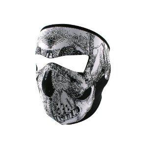 ZANheadgear Neoprene Skull Face Mask (Black/White) --- http://www.amazon.com/ZANheadgear-Neoprene-Skull-Black-White/dp/B000WK3P46/?tag=jayb4903-20