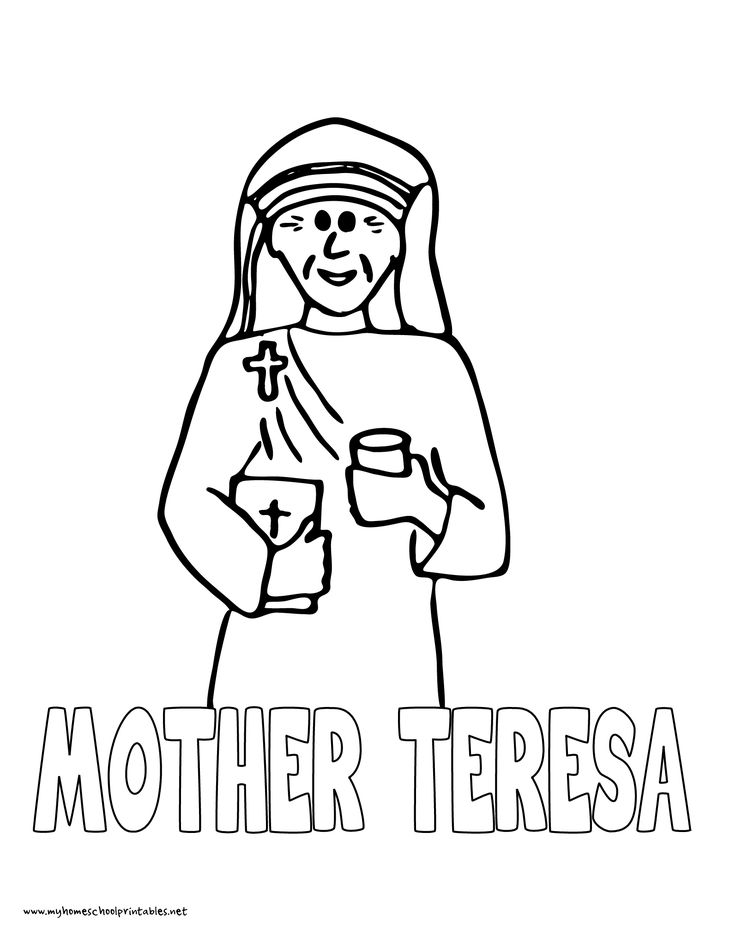 mother teresa coloring page - 141 best mystery of history 4 images on pinterest