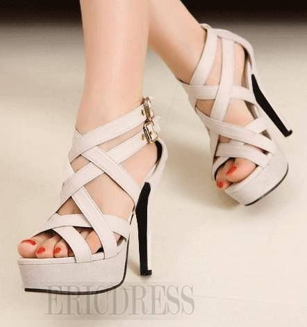 Sandal Highheels Gladiator AT-05