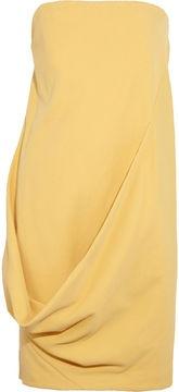 ShopStyle by POPSUGAR: Nicole Farhi Strapless piqué cotton dress £153