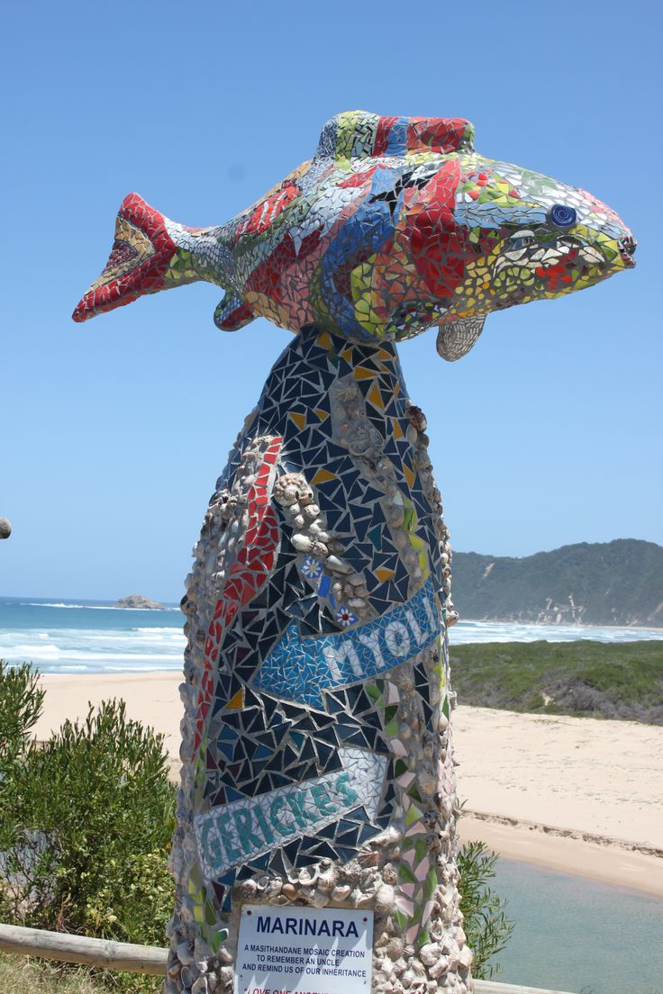 mosaic at Sedgefield, South Africa