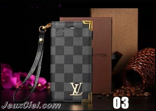 coque housse etui lv louis vuitton pour iphone 6 en cuir avec une ceinture la main http. Black Bedroom Furniture Sets. Home Design Ideas