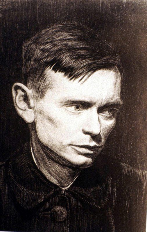 Jan Mankes ~ Self-Portrait