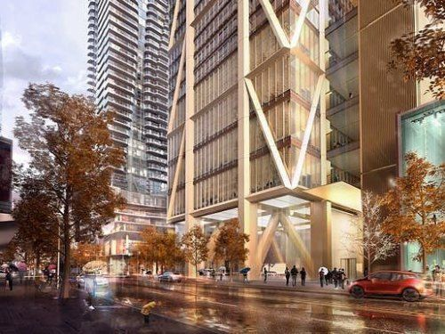 Toronto Reaches New Heights. The One Towers Construction Begins. Design By  @fosterandpartners #talest #toronto #canada #yorkville #fosterandpartners  ...