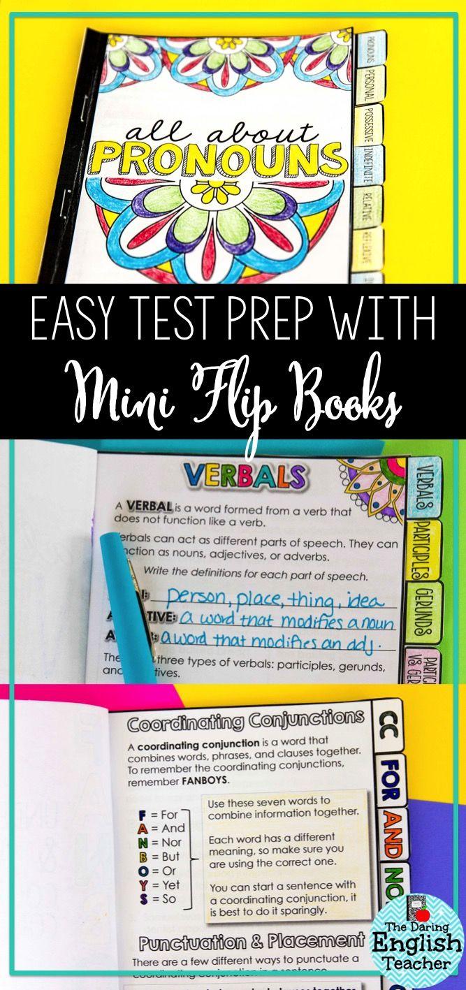 Why I Love Assigning Mini Flip Books Blog Posts Pinterest Flip