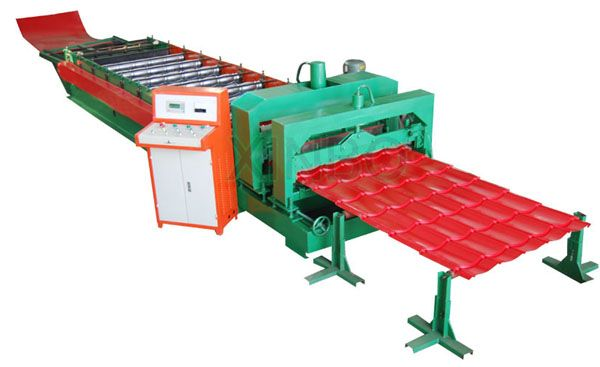 Glazedtilerollformingmachine Metal Panel Machine Can Be Used To Produce Color Steel Roof Tile Board Corrug Corrugated Wall Corrugated Roofing Roofing Sheets
