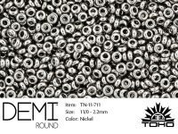 TOHO Demi Round 11o-711 Nickel - 5 g