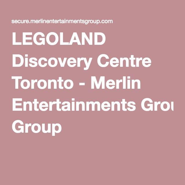 LEGOLAND Discovery Centre Toronto - Merlin Entertainments Group