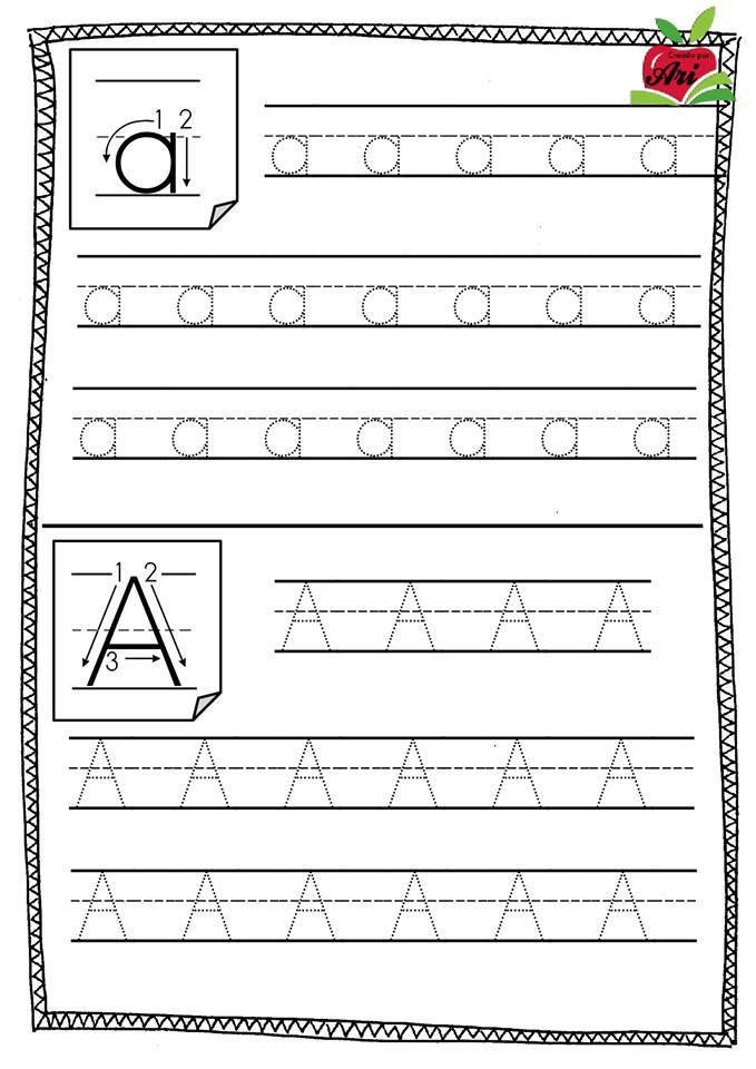 ejercicios para aprender letra cursiva pdf