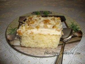 Gâteau a l'ananas Héritage culinaire