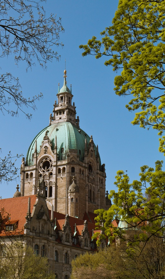Lovely Town Hall Hannover by Kai Buddensiek