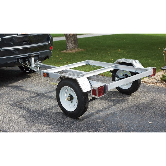 $379 FREE SHIPPING — Ultra-Tow 40in. x 48in. Aluminum Utility Trailer Kit   Trailers  Northern Tool + Equipment