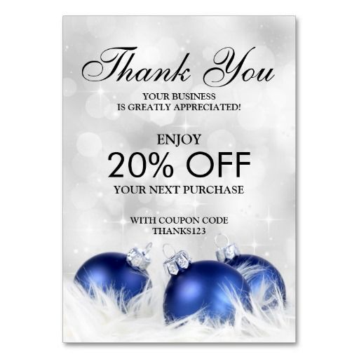 17 Best images about Business Holiday Thank You Cards on
