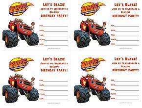 cumpleaños de Blaze y los Monster Machine
