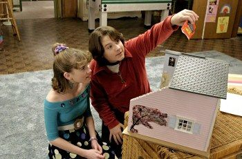 Matty shows Jenna the magic wishing dust. 13 Going on 30 is the best.