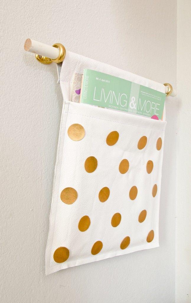 best 25 diy zeitschriftenhalter ideas on pinterest zeitschriftenhalter zeitschriftensammler. Black Bedroom Furniture Sets. Home Design Ideas