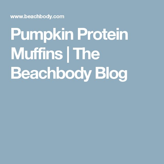 Pumpkin Protein Muffins | The Beachbody Blog