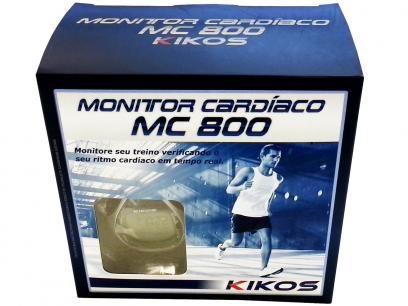 Relógio Monitor Cardíaco Kikos MC-800 - Resistente a Água com as melhores condições você encontra no Magazine Raimundogarcia. Confira!