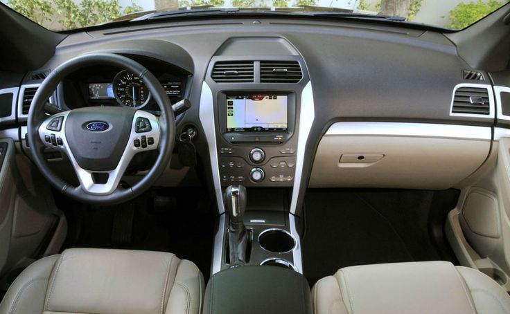 2014 Ford Explorer XLT Interior