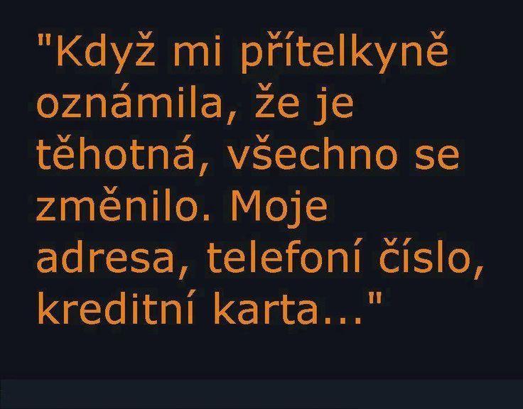 Obrázky - Moje přítelkyně otěhotněla... - Zábavnej.cz