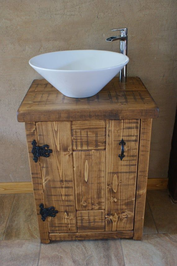 New Solid Wood Vanity Basin Unit