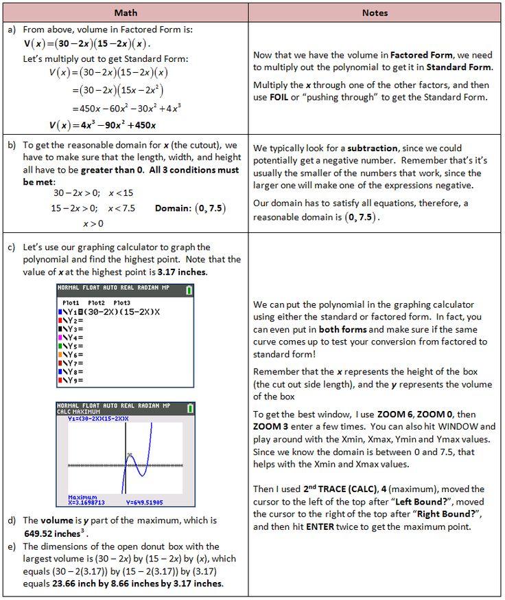 Polynomial application problem polynomials polynomial