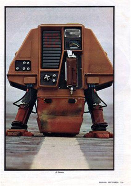 "1971 - ""Silent Running"" Drones - Doug Trumbull, Don Trumbull, Paul Kraus & James Dow (American) - cyberneticzoo.com"