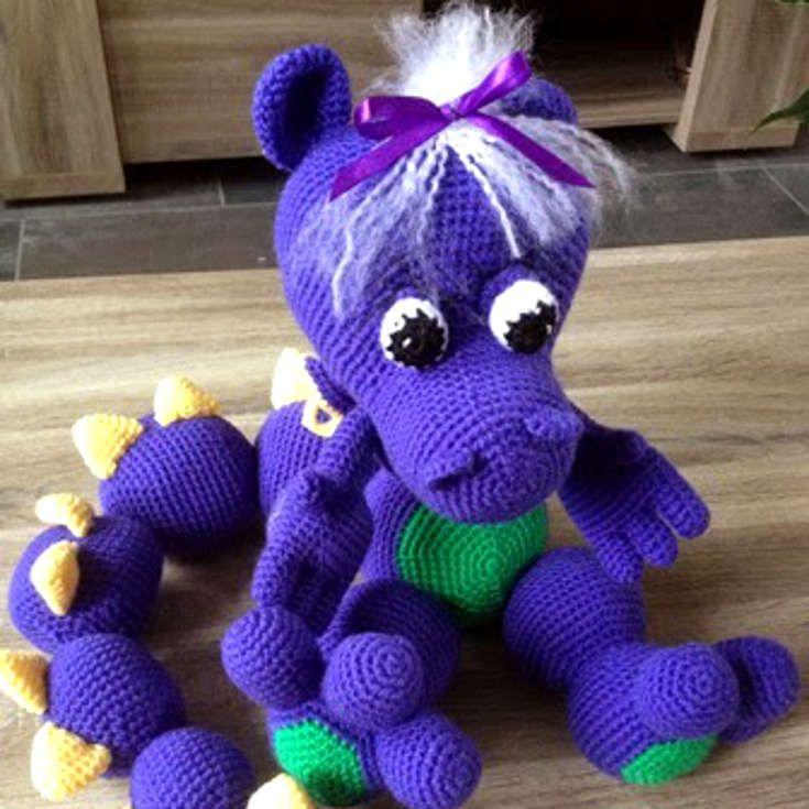 1000+ ideas about Crochet Dragon Pattern on Pinterest ...