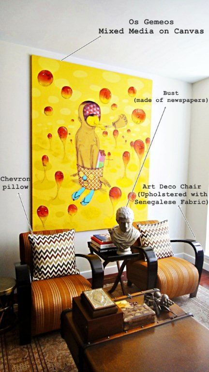 Goop newsletter buying and living with art decorating with contemporary art