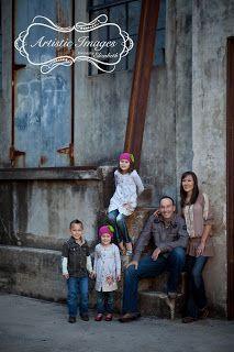 Fall Family Portraits...Urban Chic Family